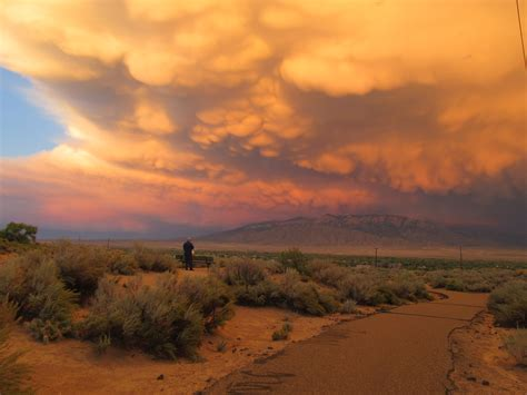 Amazing Clouds New Mexico Captured