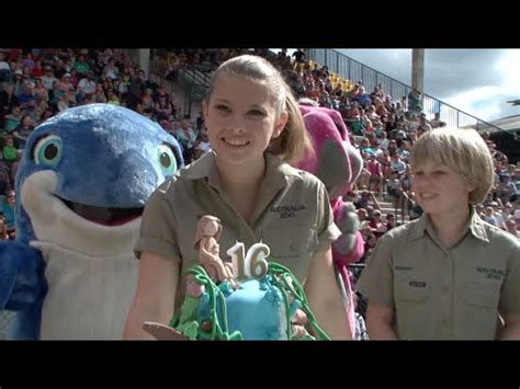 bindi irwins  birthday  australia zoo youtube