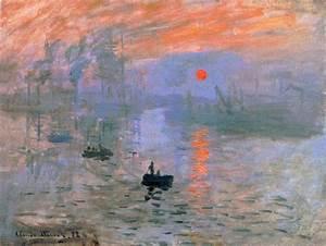 Exposition Le Tableau De Monet Impression Soleil Levant