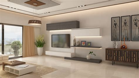 2 Bhk Apartment Interior Design In Jp