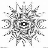 Cool Geometric Coloring Pages Shapes Designs Shape Pattern Colors Vector Overlapping Warm Newdesign Via sketch template
