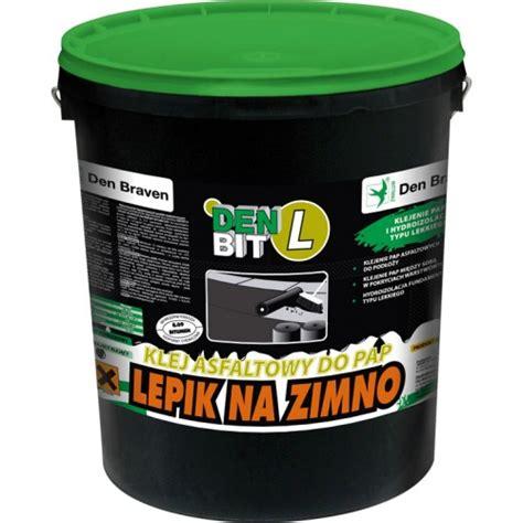 Bitumena līme ruberoīdam DEN BIT-L melna 5kg | Buvdarbiem.lv