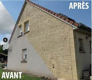 ravalement facade maison enduit effet pierre ravalement With delightful couleur facade maison provencale 1 maison provencale prixmaison fr