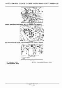 Case Ih Maxxum 110 Tractor Service Repair Manual