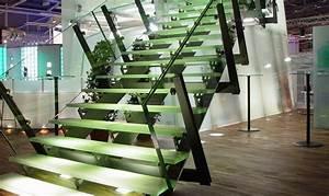 Treppenstufen Aus Glas : glastreppe glastreppen glastreppensystem glasstufen treppenstufen aus glas ~ Bigdaddyawards.com Haus und Dekorationen
