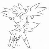 Coloring Shaymin Form Pokemon Pages Deviantart Fly Template Templates Azelf Horse Getdrawings Visit sketch template