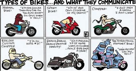 Types Of Bikes And What They Communicate (just For Fun