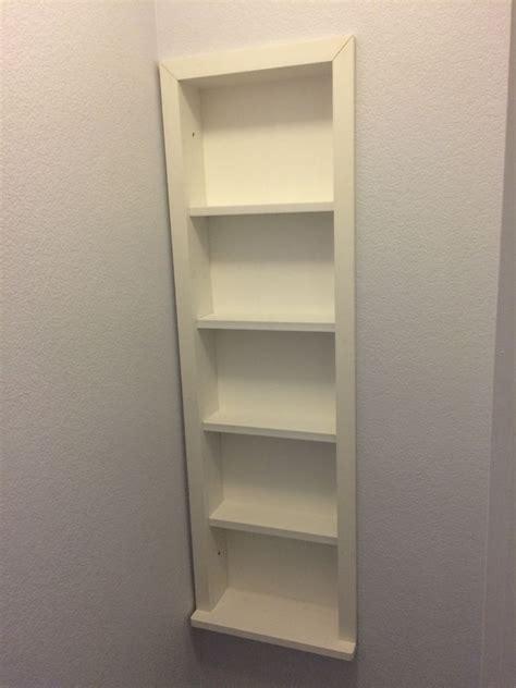 built  shelves   studs  steps  pictures