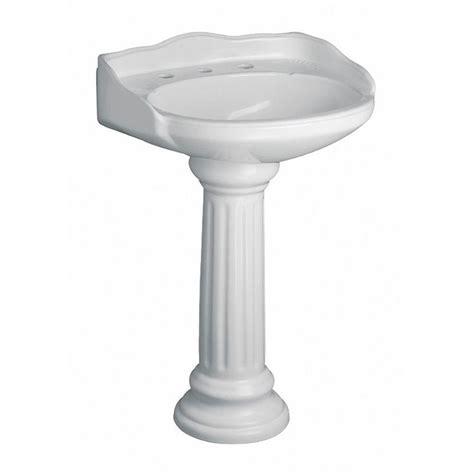 home depot bathroom sink installation pegasus vicki 22 in pedestal combo bathroom sink in white