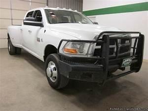 2012 Dodge Ram 3500 4x4 6 7 Diesel Crew Cab 6 Speed Manual