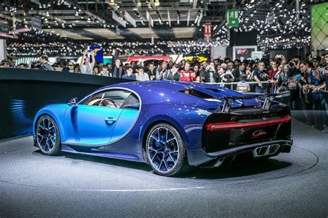 The Striking New Bugatti Chiron Revealed At Geneva Motor Show