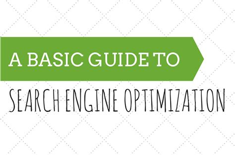 Basic Seo Guide by A Basic Guide To Seo Scoop It