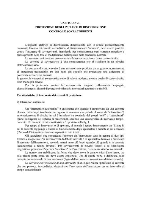 Dispense Impianti Elettrici by Sicurezza Elettrica Dispense