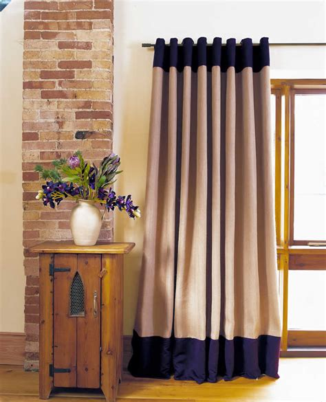 Blue Voile Curtains by Curtains With Borders Made To Measure Curtains With Borders