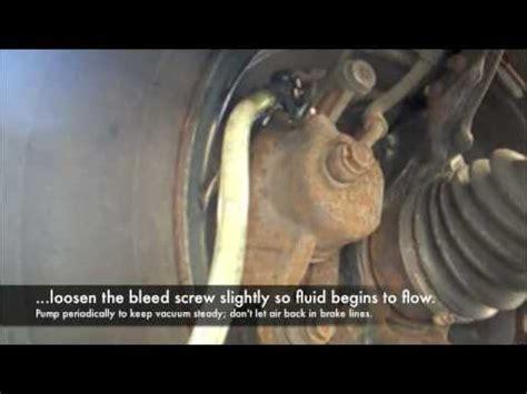bleed  brakes  flush  brake fluid youtube