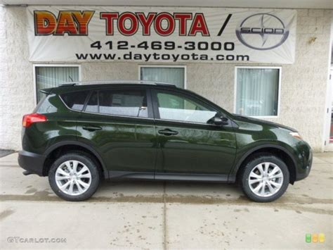 spruce green mica toyota rav   loves