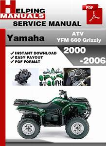 Yamaha Atv Yfm 660 Grizzly 2000