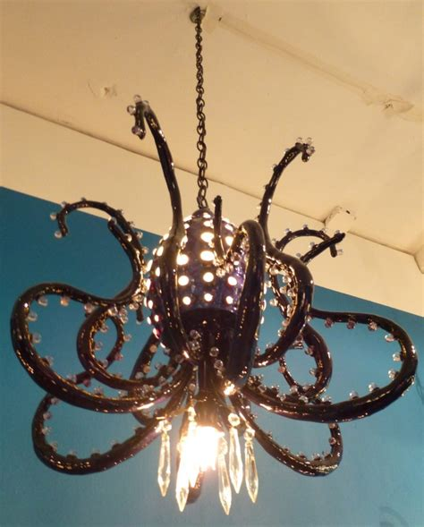 octopus chandelier for 20 000 leagues the ceiling kāv style