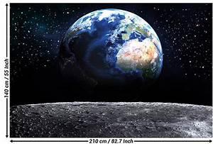 Terre De Lune Eschau : papier peint de la plan te d coration de peinture murale ~ Premium-room.com Idées de Décoration