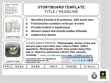 Office of the Chief of Chaplains   Storyboard Template ...