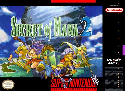 Here's my take on Secret of Mana 2 box art, just thought I would share it with you guys if you ...