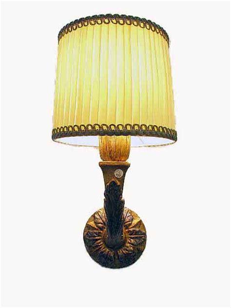 applique legno applique antica legno dorato 1 luce anni 50 ghilli