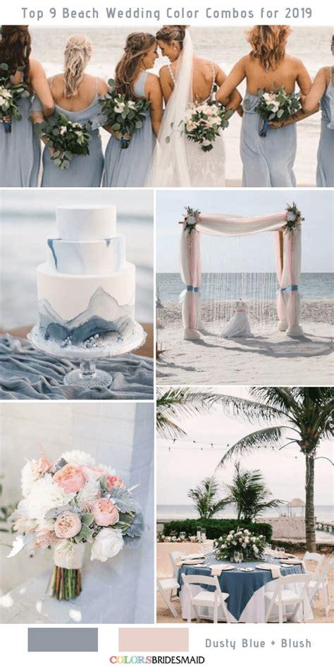 top  beach wedding color combos ideas