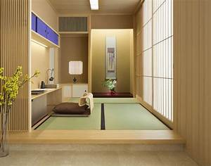 impressive japanese interior design with chic look nuance With kitchen cabinet trends 2018 combined with papier peint oriental