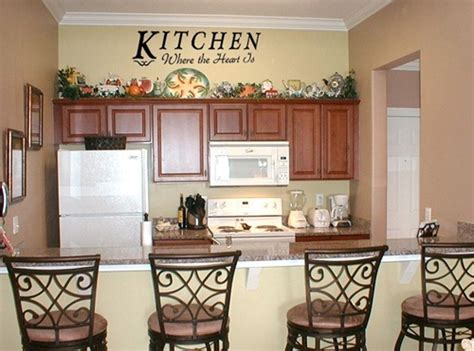 Decorating Ideas For Large Kitchen Wall by Kitchen Wall Decor Ideas Interior Design