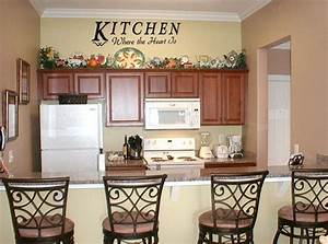 Kitchen wall decor ideas interior design for Top 5 ideas of wall decor for kitchen