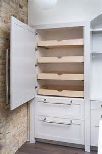 Cabinets with Pull Out Pantry Shelves
