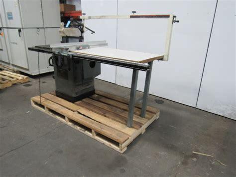delta    unisaw tilting arbor table