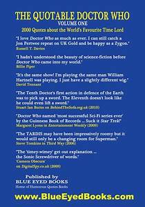 DOCTOR WHO Memo... Dedicated Doctor Quotes
