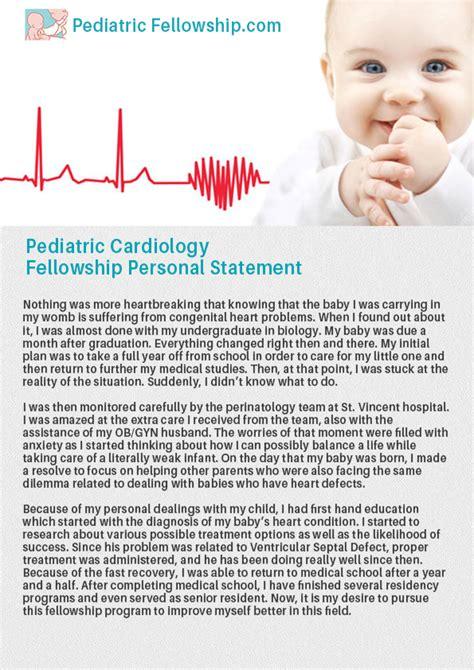 Pediatric Cardiologist Resume by Help With Personal Statement Medicine Fellowship Buy Original Essays Chkoscierska Pl
