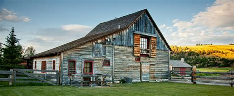 Design Your Own Ranch Style Home by Luxury Guest Ranch Historic Barn The Rock Creek Type