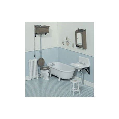 Victorian Bathroom Kit   Dollhouse Bathroom Sets