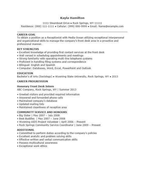 gym front desk jobs near me receptionist resume templates resume template ideas