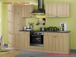 Küchenzeile 270 Cm Ohne Elektrogeräte : k chenzeile boston k chen leerblock breite 270 cm buche k che k chenzeilen ~ Bigdaddyawards.com Haus und Dekorationen