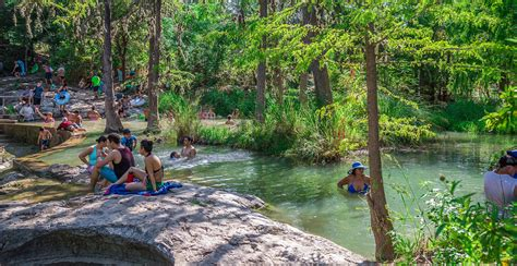 krause springs hill country natural springs camping
