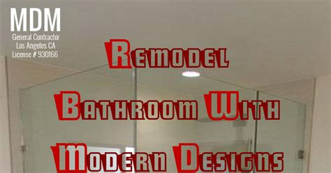 bathroom designs remodel bathroom with modern designs in los angeles pdf