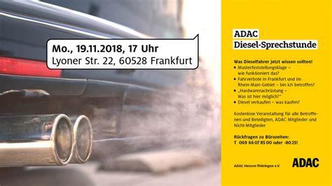 adac sammelklage diesel adac diesel sprechstunde anwalt arbeitsrecht frankfurt