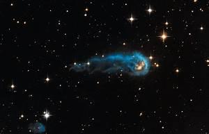 NASA's Hubble Sees a Cosmic Caterpillar | NASA