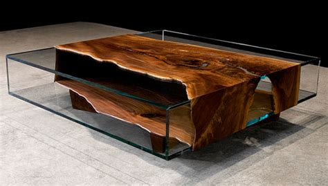 Unique Wood And Glass Furniture Designs