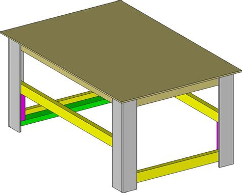directions  building  portable workbench