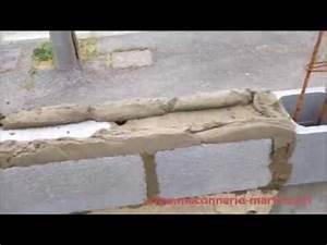 Comment Lessiver Un Mur : comment faire un mur de cl ture en agglos de 20 cm www ~ Dailycaller-alerts.com Idées de Décoration