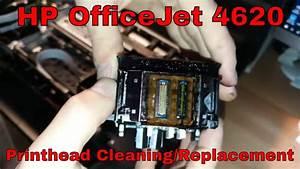 Hp Officejet 4620  U2022 Printhead Manual Cleaning