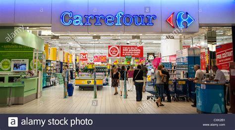 supermarket carrefour city stock  supermarket carrefour city stock images alamy