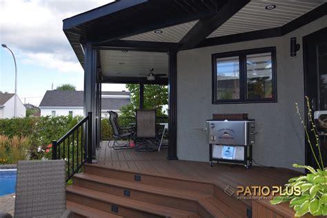 patio  patio avec toit permanent terrasse sur toit