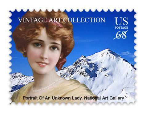 postage stamp mockup cover actions premium mockup psd
