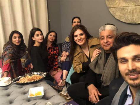 celebrities  dinner  ahsan khan home  lahore